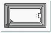 RFID Label Rectangular 13.56Mhz high frequency