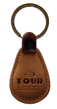 Keyfob Leather 13.56Mhz high frequency RFID Tag