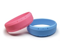 Wristband Silicone Bangle Rubber 13.56Mhz high frequency RFID Tag