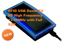 RFID USB Demo Kit HF High Frequency 13.56MHz with Full SDK