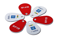 Keyfob PVC Flat 125 Khz Low frequency RFID Tag